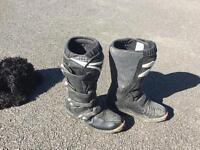 Motorbike boots size 6