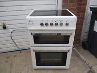 Electric Cooker, 60cm wide Flavel Fan assisted Ceramic top electric cooker. Immaculate