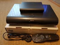 Sky Plus HD 2TB box with built-in Wi-Fi router and controller in very good condition