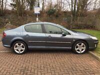2004 Peugeot 407 2.0 HDi Executive 4dr Automatic Long Mot @07445775115@
