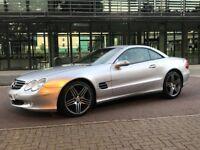 Mercedes Benz SL Series SL350 convertible coupe 3.7 petrol auto silver 19 Inch AMG Alloys 245 BHP