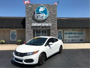 2015 Honda Civic Coupe LX IN GREAT CONDITION! FINANCING AVAILABL