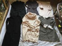 Clothes bundle, ladies dresses size 10, M used 8 dresses £14