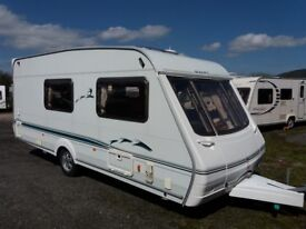 Swift Challenger 2004 4 berth clean family caravan with awning