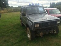 1997 Daihatsu Fourtrak 2.8td off-road ready