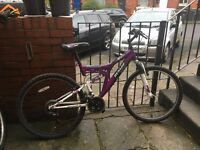 EXCELLENT DUAL SUSPENSION MOUNTAIN BIKE DUNLOP