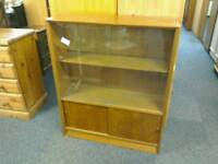 Bookcase with sliding glass doors #32132 £30