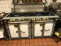 Radiation Chester 8 Burner Industrial Gas Cooker