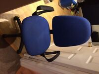 Free blue and black office chair