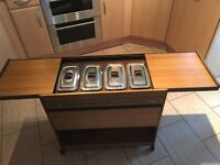 Philips Hostess Trolley in good condition
