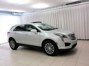 2017 Cadillac XT5 3.6L AWD LUXURY, NAVIGATION, LEATHER, DRIVER A
