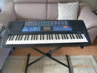 Casio Electronic Organ with stand
