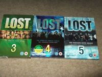 lost box sets series three,four and five in good condition,a bargain at only £7.00