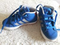 Adidas kids trainers size 10
