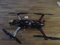 4K GPS drone quadcopter discovery quad with dji naza and fat shark fpv gear