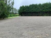 Yard space 25m x 50m for rental 20 mins from Edinburgh city centre