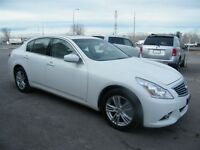 2011 Infiniti G25X Luxury AWD NAVIGATION/B.CAMERA - NEW TIRES!