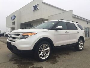 2011 Ford Explorer Limited AWD 2nd Row Consul and Adaptive cruis