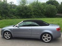 AUDI 2.0 TURBO, FULL LEATHER, CONVERTIBLE, BLUE TOOTH, 91K, DSG