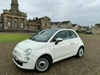 2012, Fiat 500 Lounge RHD, 1.2L, 70BHP, 48,500miles, 12 months MOT*, S/Hist x6*, 3 Door, Petrol