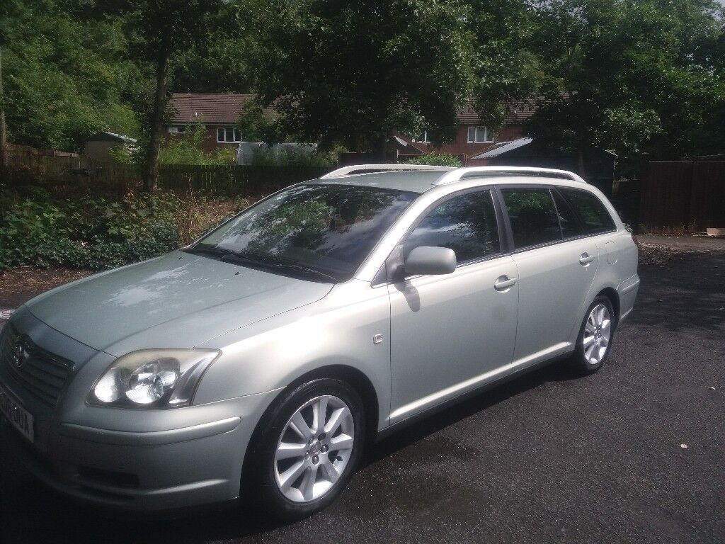 Bargain Toyota avensis/reliable and very clean.