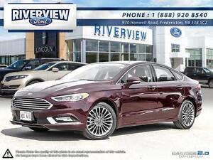 2017 Ford Fusion Titanium 1.9%!!! Free Extended Warranty!!!