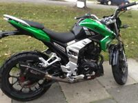 Lexmoto venom 125 for sale. 16reg
