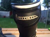 Richa bike boots -like new size uk 9