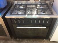 Indesit range cooker gas and electric ovens 90cm