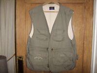 Fly Fishing Waistcoat made by designer GANT size XXL