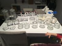 glassware jars for sale £60