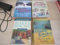 4 x Maeve Binchy paperback books