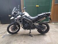 Triumph Tiger 800 - XcX - Very Clean - Low Mileage