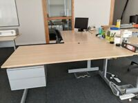 IKEA Office Desk with drawers