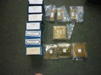 Electrical Sockets/Switches Brass Brand New