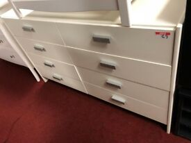 4+4 drawer chest of drawers