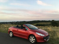 Peugeot 307 CC 1.6 16v Sport 2dr Convertible Leather interior