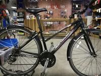 Saracen urban esc hybrid ladies bike