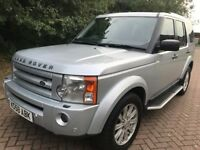 2009 LAND ROVER DISCOVERY 3 2.7 TDV6 SE AUTOMATIC 4x4 7 SEATER DIESEL FULL SERVICE CAM BELT DONE