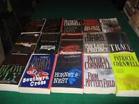 Patricia Cornwall books $1 each or $10 for the lot