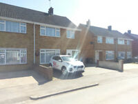 3 bedroom redecorated semi-detached house with driveway parking for 2/3 cars