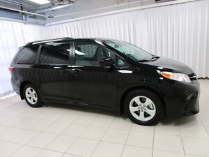2018 Toyota Sienna LE MINIVAN 8-PASSENGER WOW! LOW KM'S AND TOYO