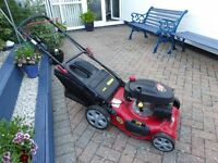 frisky fox 20 inch cut petrol lawn mower