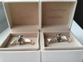 Genuine Pandora Disney charms
