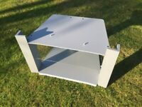 Panasonic TV Stand - Grey with Glass Shelf