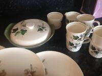 vintage china various pieces and compleate sets