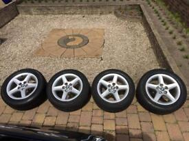 BMW E36 5x120 16 Inch wheels *Rare*
