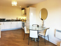 An incredible 2 bed, 2 bath with allocated parking in brand new block in Acton Central.