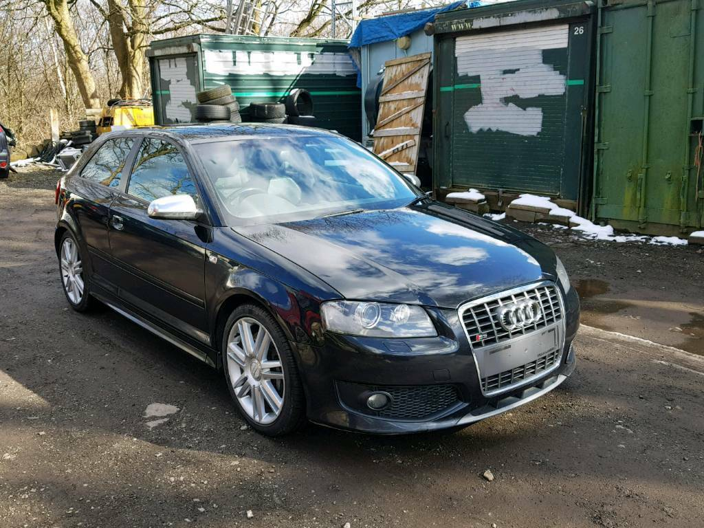 2007 57 AUDI S3 8P 3DR 2 OWNERS DAMAGED WITH PARTS FSH | in Huddersfield, West Yorkshire | Gumtree