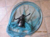 Fishing Reel and Landing Net - Model SEL 350 Quick